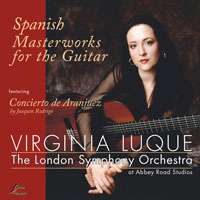 Virginia Luque Mozart CD